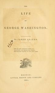 Cover of: life of George Washington. | Jared Sparks