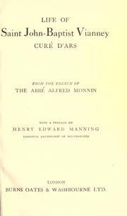 Cover of: Curé d'Ars by Alfred Monnin