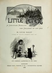 Cover of: Little Peter | Lucas Malet