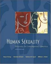 Cover of: Human Sexuality | Bryan Strong