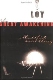 Cover of: The great awakening: a Buddhist social theory