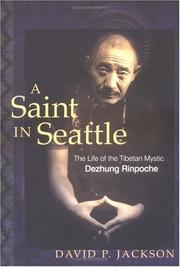Cover of: A Saint in Seattle | David P. Jackson