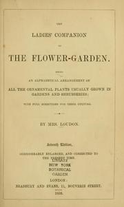 Cover of: The ladies' companion to the flower-garden | Jane C. Webb Loudon