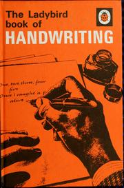 Cover of: The ladybird book of handwriting | Tom Gourdie