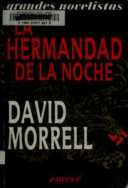 Cover of: La hermandad de la noche | David Morrell