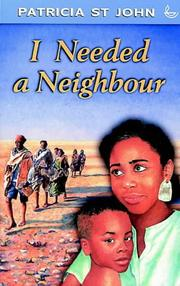 Cover of: I Needed a Neighbour (Swift Books)