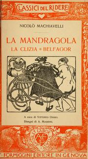 La mandragola by Niccolò Machiavelli