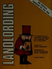 Cover of: Landlording | Robinson, Leigh
