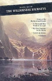 Cover of: The Wilderness Journeys: My Boyhood & Youth First Summer in the Sierra 1000 Mile Walk (Canongate Classics, 67)