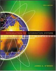 Cover of: Introduction to Information Systems with MISource v.2 and PowerWeb