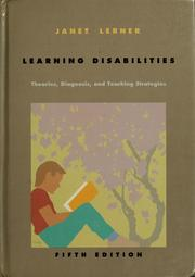 Cover of: Learning disabilities | Janet W. Lerner