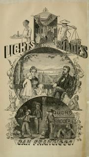 Cover of: Lights and shades in San Francisco | Lloyd, B. E.