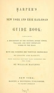 Harpers New York and Erie rail-road guide book