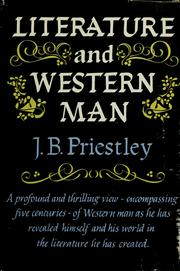 Cover of: Literature and Western man. by J. B. Priestley