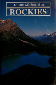 Cover of: The little gift book of the Rockies | E. R. Jones