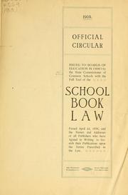 Cover of: Official circular issued to boards of education in Ohio by the state commissioner of common schools | Ohio. State commissioner of common schools