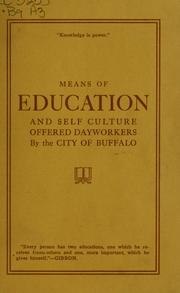 Cover of: The Buffalo Public Library | Buffalo Public Library (Buffalo, N.Y.)