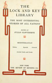 Cover of: THE LOCK AND KEY LIBRARY
