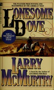 Cover of: Lonesome Dove: a novel