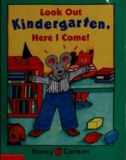 Look out kindergarten, here I come!