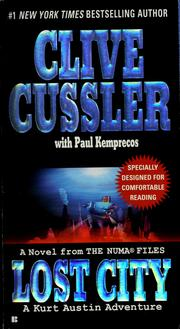 Cover of: Lost city | Clive Cussler