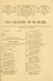 Cover of: Los calzones de mi mujer by Ceferino Sanchiz
