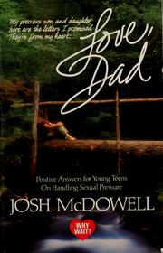 Cover of: Love, Dad | Josh McDowell