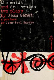 Cover of: The maids. | Jean Genet