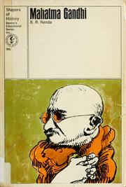 Cover of: Mahatma Gandhi by B. R. Nanda