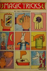 Cover of: Magic tricks by Guy Frederick