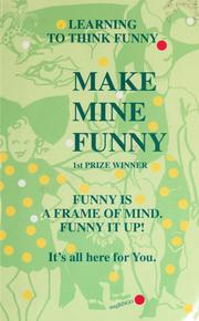 Cover of: Make mine funny | MngBINGO.