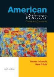 Cover of: American Voices | Dolores Laguardia