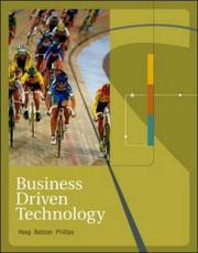Cover of: Business Driven Technology | Stephen Haag