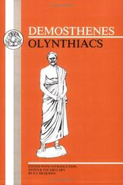 Cover of: Olynthiacs