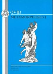 Cover of: Ovid by Ovid