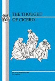 Cover of: The Thought of Cicero | Cicero