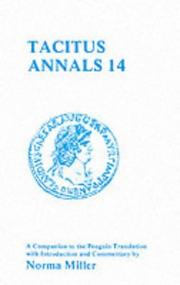 Cover of: Tacitus Annals 14