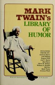 Cover of: Mark Twain's library of humor