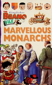 Cover of: Marvellous monarchs | Rosie McCormick