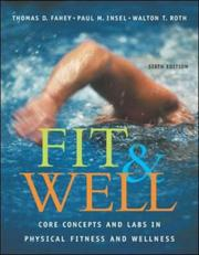 Cover of: Fit & Well | Fahey, Thomas D.