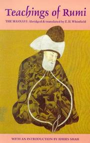 Cover of: Teachings of Rumi (The Masnavi)