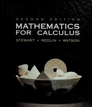 Cover of: Mathematics for calculus | James Stewart
