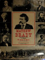 Cover of: Mathew Brady, historian with a camera