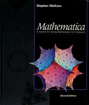 Cover of: Mathematica: A System for Doing Mathematics by Computer