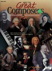 Cover of: Meet the great composers | June Montgomery