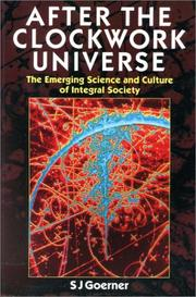 Cover of: After the clockwork universe