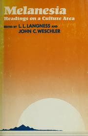 Cover of: Melanesia | Langness, L. L.