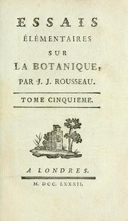 Cover of: Melanges | Jean-Jacques Rousseau