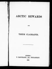Cover of: Arctic rewards and their claimants |