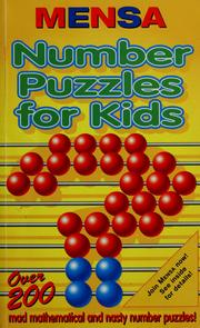 Cover of: Mensa number puzzles for kids | Harold Gale